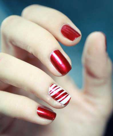 5 Ideas For Wearing The Red Nail Art Trend Amazingnailart