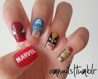 Awesome Nail Art Designs Amazingnailart