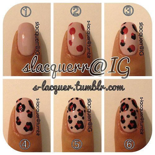 Leopard Look Photo Tutorial Amazingnailart