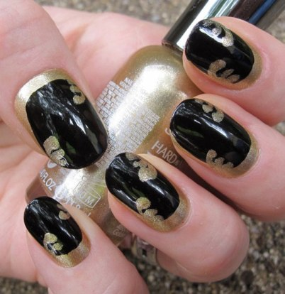 Amazingnailart category archive gallery 20 easy simple black nail art designs supplies galleries for beginners prinsesfo Image collections