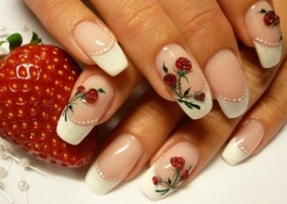 Amazing Red Roses Nail Art Design S