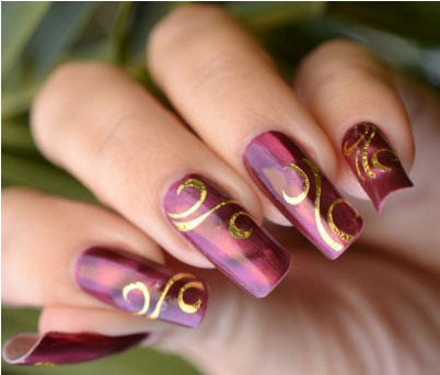 Latest Different Style Of French Nail Art 2013 Amazingnailart