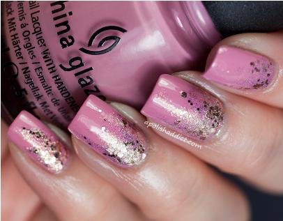 Reverse Glitter Gradient-s