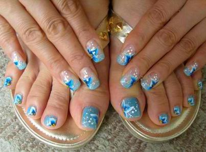 Toe Nail Art Designs Amazingnailart