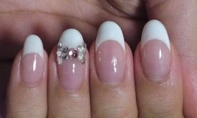 Short french manicure designs amazingnailart the nails art design would like to share the short french manicure designs gallery prinsesfo Images