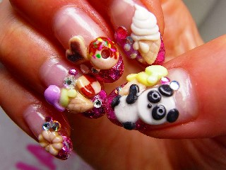 Breathtaking Cute 3d Nail Art Amazingnailart