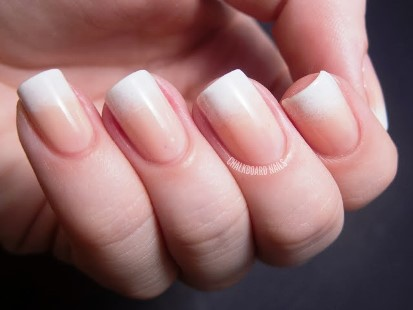 How To Create Nude Gradient French Tip Amazingnailart Org