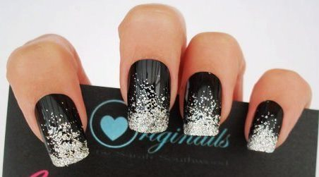 How To Glitter Fade Nails Amazingnailart Org