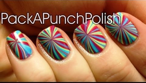 Create A Colorful Nail Art At Home With This Step By Video Tutorial