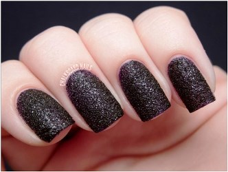 How To Apply Black Matte Glitter Nail Polish Amazingnailart Org