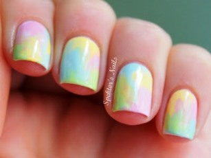 Pastel_Watercolor_Nails_A s