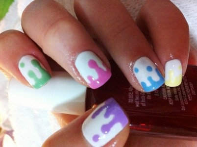 "beautiful nail art ideas for short and ""super"" nails"