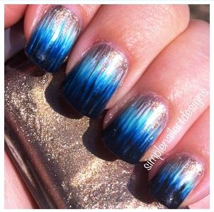 Ombre Dip Dye Nails S