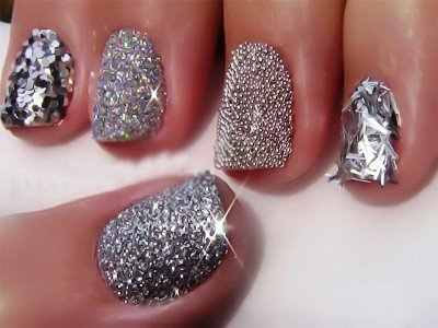 Glitter Nail Polish Ideas 5 S