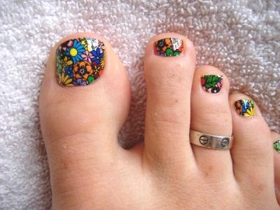 2nd batch of toe nail art designs  amazingnailart