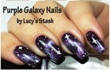 Purple galaxy nail art tutorial amazingnailart 066d4f33fff2142b25bd8b7b59ea20a6 s prinsesfo Gallery