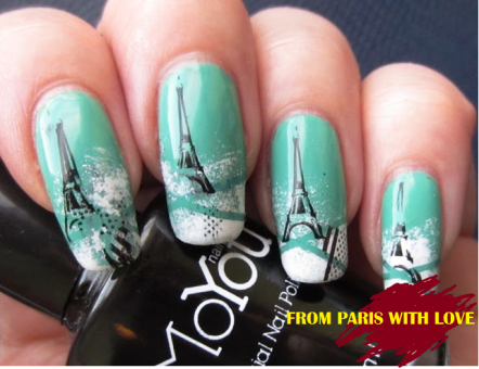 PARIS s - We'll Always Love Paris AmazingNailArt.org