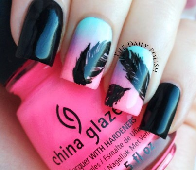If You Are Looking For A Nail Art Design All Season Then In The Perfect Place How To Grant Feather Tutorial