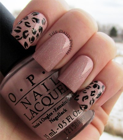 15 Unique Animal Print Nail Art Designs by Megi | AmazingNailArt.org