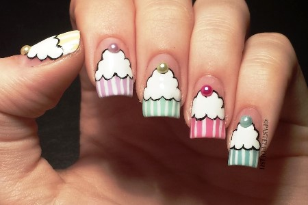 20140426_202048-900x600s - Pastel Cupcake Nail Art Idea And Tutorial AmazingNailArt.org