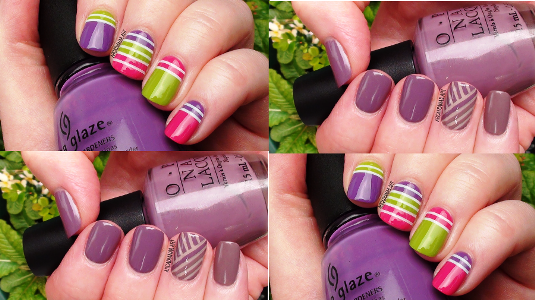 3 striping tape easy nail art designs nail art for beginners in todays nail art tutorial you will learn three simple nail art inspiration using nail tapes check out the link below for the tutorial prinsesfo Images