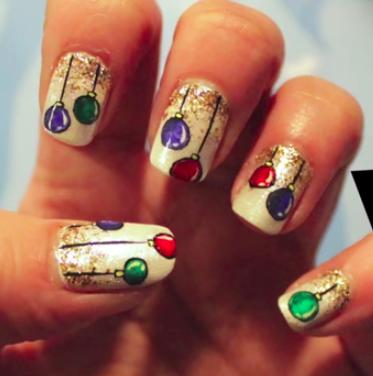 Christmas tree ball ornaments nail art tutorial amazingnailart screen shot 2014 12 23 at 82347 am prinsesfo Gallery
