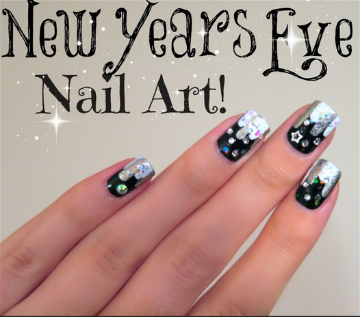 Nail art new years eve gallery nail art and nail design ideas new years eve nail art no tools needed amazingnailart screen shot 2014 12 31 at 73420 prinsesfo Gallery