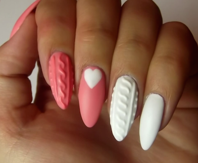 3d knitted nail art tutorial amazingnailart screen shot 2015 01 17 at 93932 am prinsesfo Choice Image