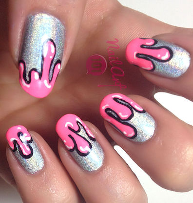 Drip Nail Art Tutorial Amazingnailart