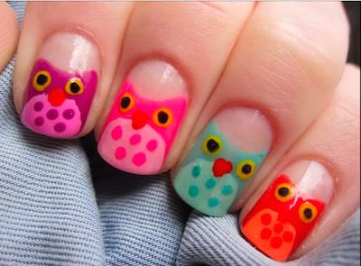 Simple owl nail art tutorial amazingnailart screen shot 2015 02 22 at 94744 am prinsesfo Images
