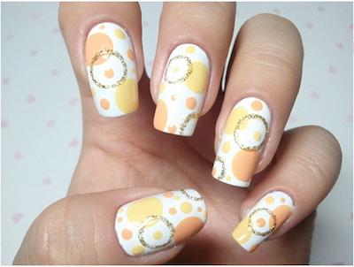 Korean nail art circle nail art tutorial amazingnailart screen shot 2015 04 13 at 123438 pm prinsesfo Choice Image