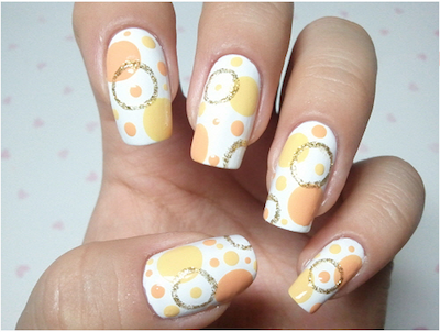 Korean nail art circle nail art tutorial amazingnailart screen shot 2015 04 13 at 123438 pm prinsesfo Gallery