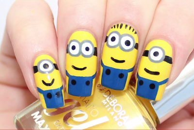 Screen Shot 2015-07-12 at 2.28.21 PM - Minion Nail Art Tutorial For Beginners AmazingNailArt.org