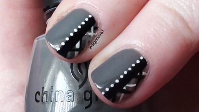 Maxresdefault Learn How To Paint Simple Plaid Nails With Dots A Nail Art Design That Works Really Well On Short Nails And Is Pretty Easy To Do  F0 9f 99 82
