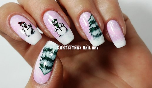 15++ Christmas And New Year Nails