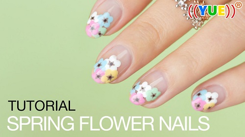 Tutorial Nail Art Designs for Spring 2017