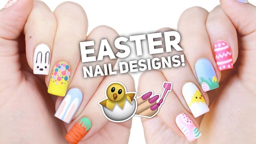 10 Easy Easter Nail Art Designs