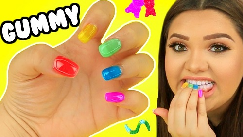DIY Gummy Edible Nails