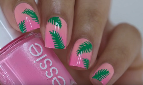 Palm Tree Nails | AmazingNailArt.org