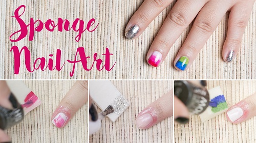 3 Nail Art Technique Using Sponge