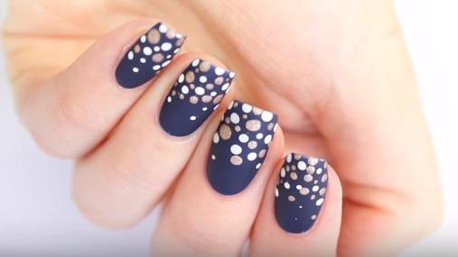 Easy Gradient Dotticure Nail Art Amazingnailart