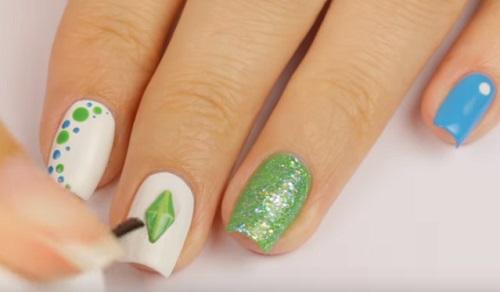 The Sims 4 Nail Art