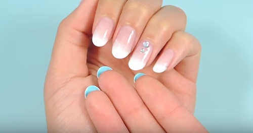 Easy Wedding Nail Art