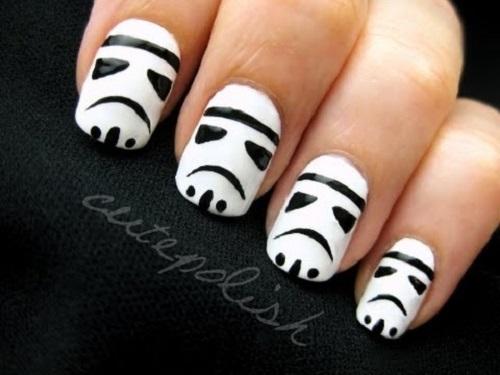 Stormtrooper Nail Art