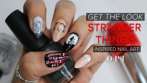 Stranger Things Amazingnailart
