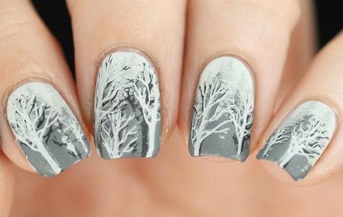Winter Nail Art 2018