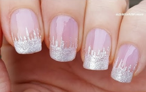 Frozen French Manicure