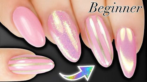 How To Paint Stripes On Nails