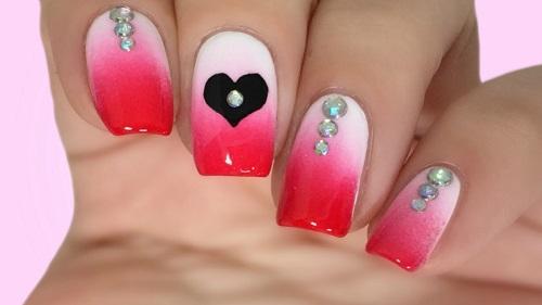 Valentine's Day Nail Art 2018