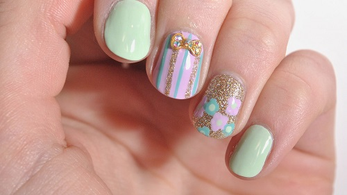 Easy And Cute Diy Spring Nail Art Designs Amazingnailart Org